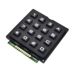 Teclado cuadrado alfanumérico de 4x4