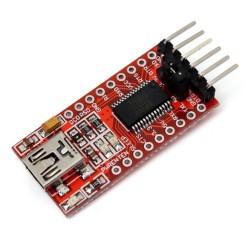 Módulo convertidor MiniUSB a TTL FT232RL