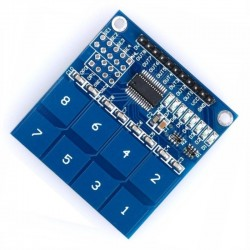 Módulo sensor táctil de 8 canales TTP226