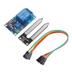Módulo sensor de humedad de suelo con relé de 5V