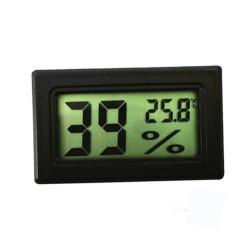 Termómetro e higrómetro digital, con pantalla LCD