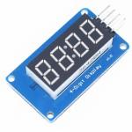 Módulo de display de 4 dígitos para reloj, TM1637