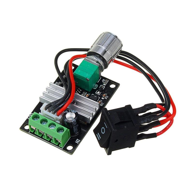 Módulo controlador de velocidad PWM con cambio de giro