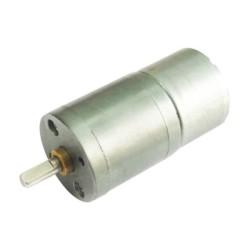 Motorreductor metálico de 6V a 100 RPM