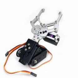 Brazo robótico de 2DOF para MG995 o MG996