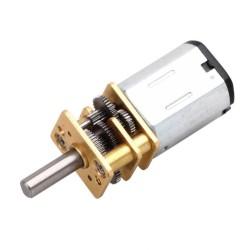 Motorreductor N20 de 12V a 200 RPM