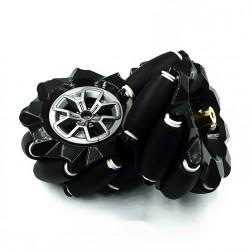 Pareja de rueda omnidireccional de 97mm