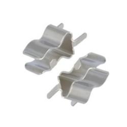 Lámina portafusible de 5 x 20 mm para placa (pareja)