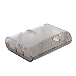 Protector de plástico para Raspberry Pi 4 modelo B, transparente