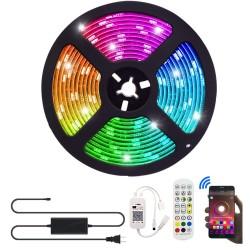 Tira LED inteligente RGB 5050 de 5m