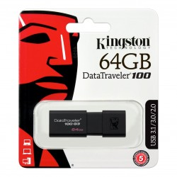 Memoria USB 3.0 Kingston de 64GB