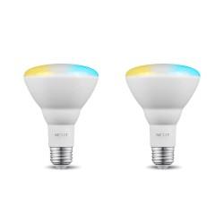 Bombilla LED inteligente Wi-Fi para exterior, regulable con blanco cálido y daylight, 2 piezas