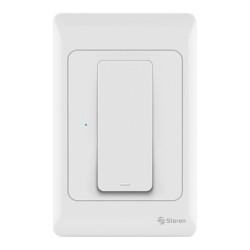Apagador de pared Wi-Fi de botón