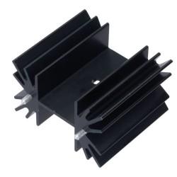 Disipador de 42x25x25 mm para TO220 y TO247