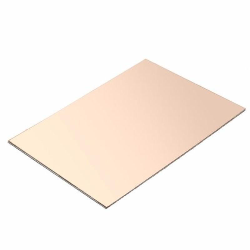 Placa de cobre de doble cara de 7x10 cm