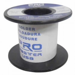 Carrete de estaño Pro Master USA de 0.8mm 60/40 - 100g con pasta 51