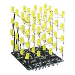 Kit para soldar de cubo LED 3D