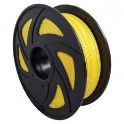 Filamento PLA+ para impresora 3D, amarillo