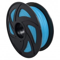 Filamento PLA+ para impresora 3D, azul