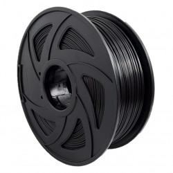 Filamento TPU para impresora 3D, negro