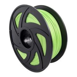Filamento PLA+ para impresora 3D, verde