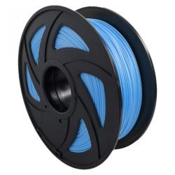 Filamento PLA+ brillante para impresora 3D, azul