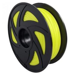 Filamento PLA+ brillante en oscuridad para impresora 3D, amarillo