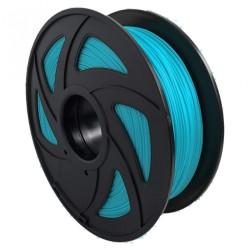 Filamento PLA+ fluorescente para impresora 3D, azul