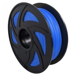 Filamento PLA+ translúcido para impresora 3D, azul