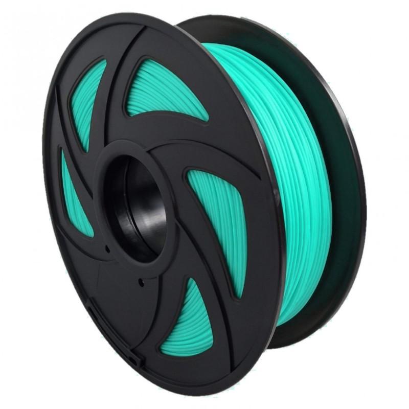 Filamento PLA+ translúcido para impresora 3D, verde