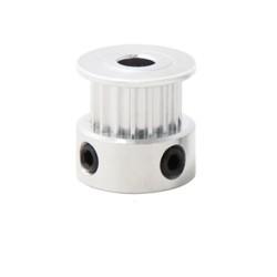 Polea GT2 de 20 dientes para faja de 6mm y eje de 5mm