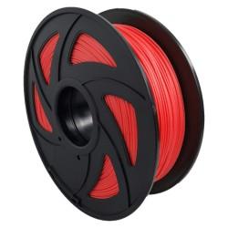 Filamento TPU para impresora 3D, rojo