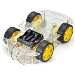 Kit de carro de 4 ruedas