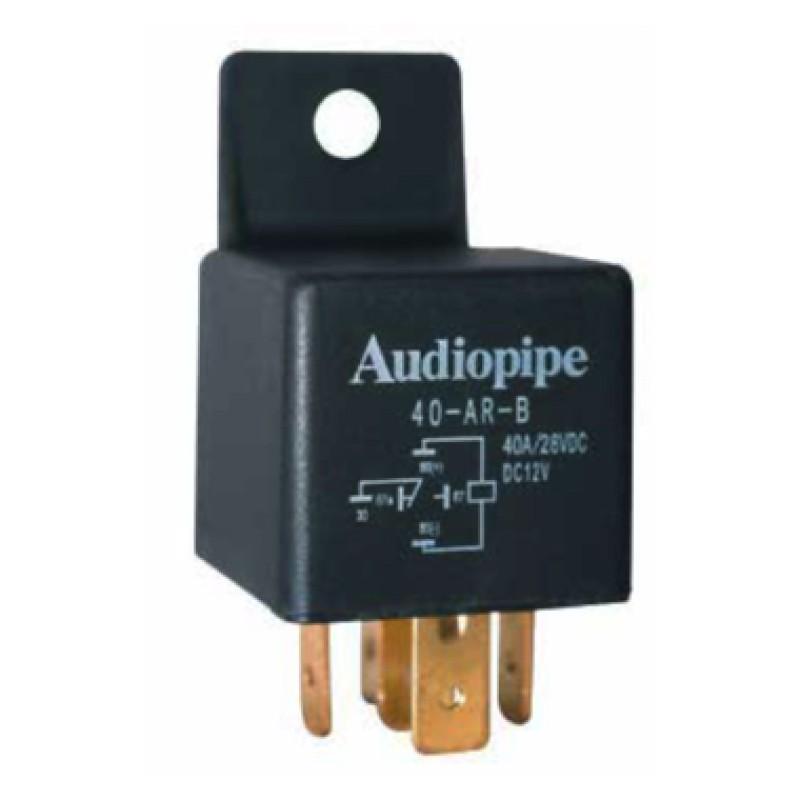 Relé Audiopipe SPDT 12V 40A para carro