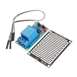 Módulo sensor de lluvia con relé 12V
