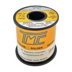 Carrete de estaño TMC de 1mm 60/40 - 454g con pasta 55