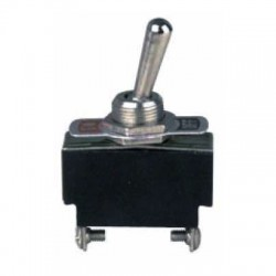 Switch toggle ON-OFF de 2 pines, 15A 120V