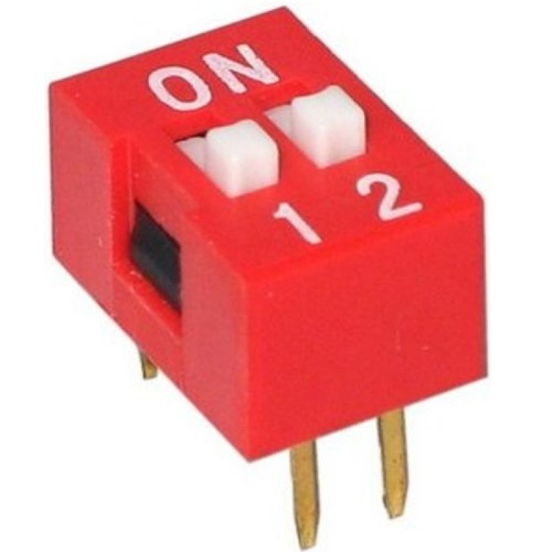 Switch Dip de 2 posiciones