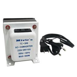 Transformador TC-500 de 110V a 220V - 500W